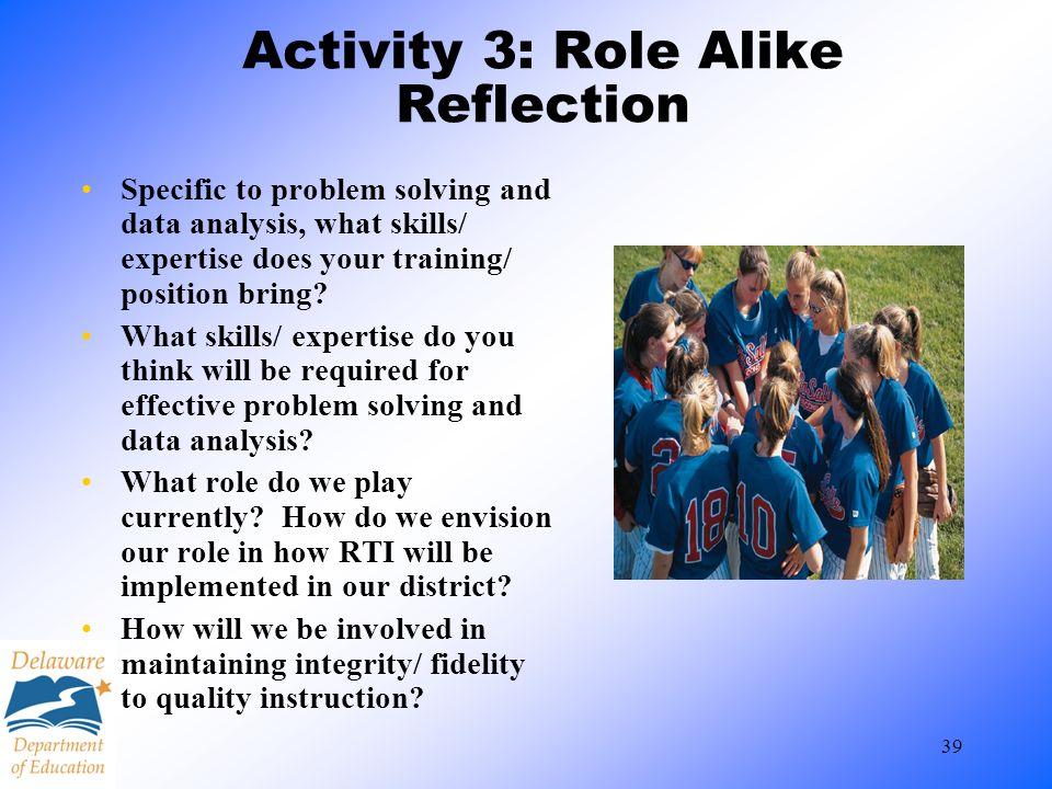 Activity 3: Role Alike Reflection