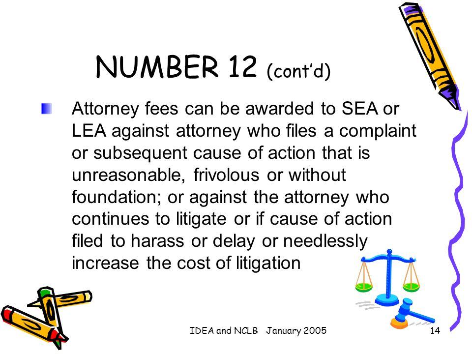 NUMBER 12 (cont'd)