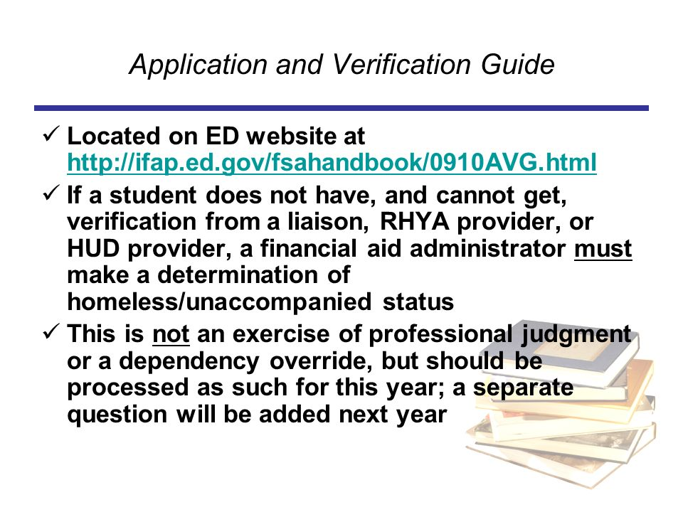 Application and Verification Guide
