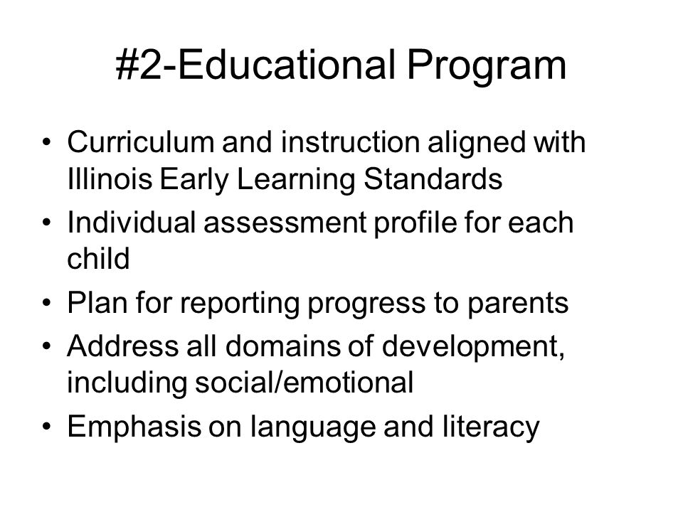 #2-Educational Program