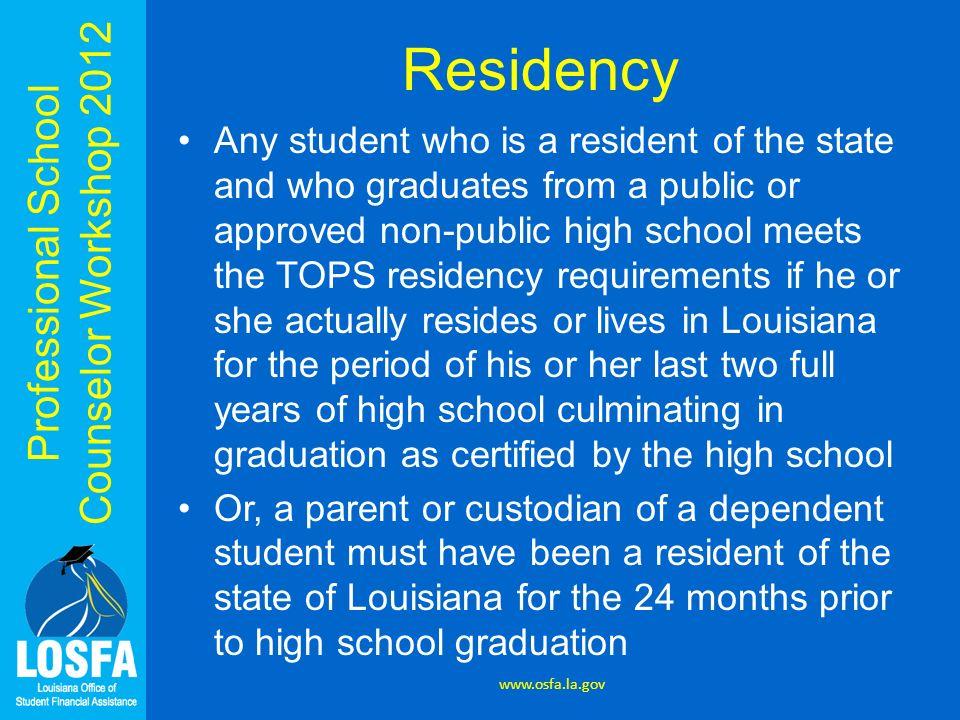 Residency