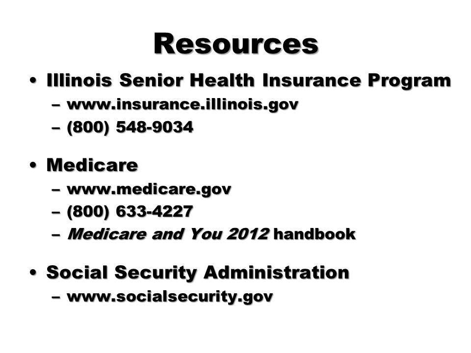 Resources Illinois Senior Health Insurance Program Medicare