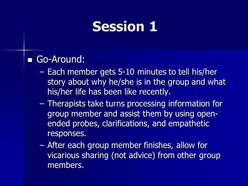 Session 1 Go-Around: