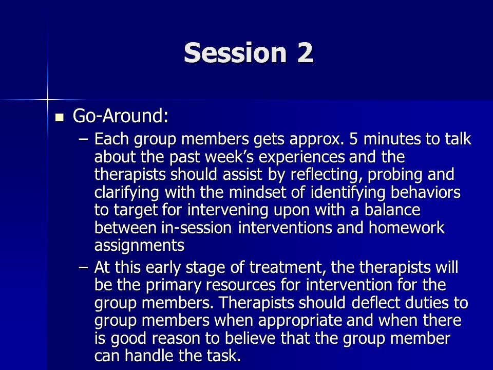 Session 2 Go-Around: