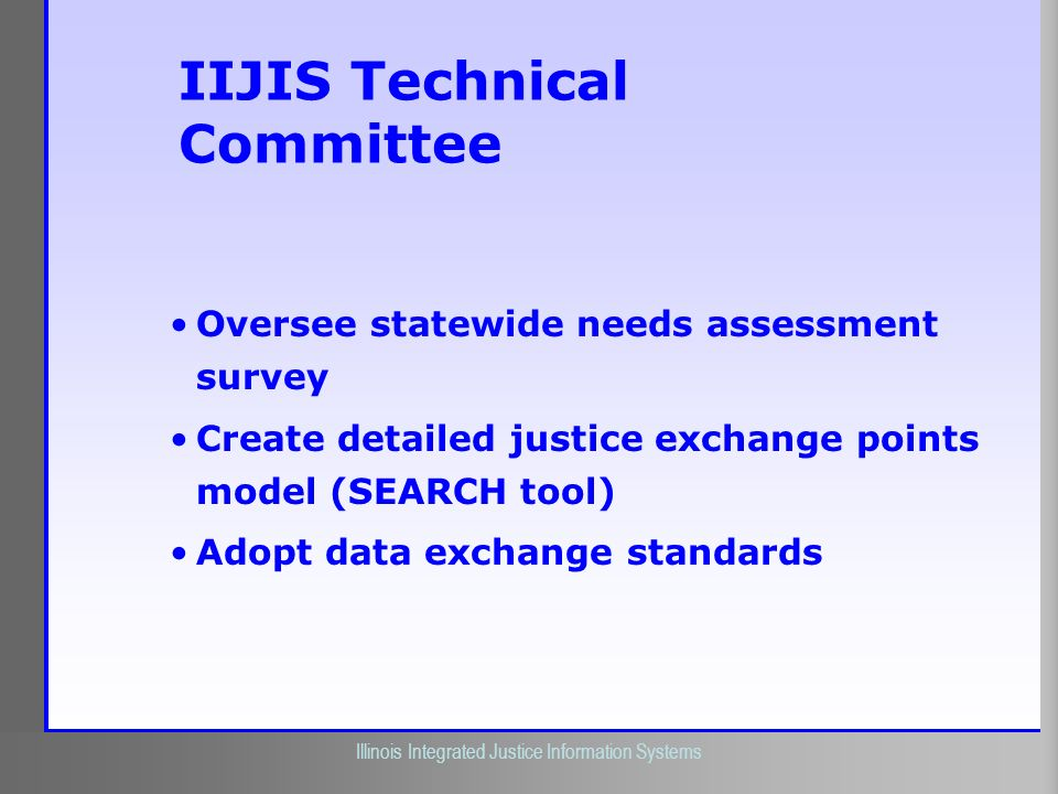 IIJIS Technical Committee