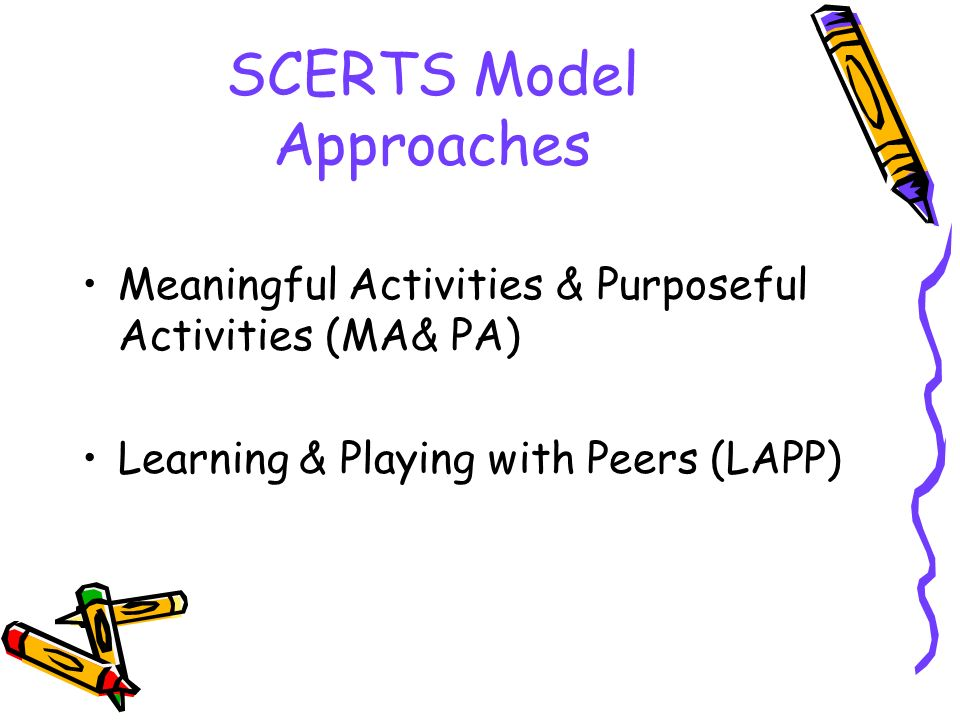 SCERTS Model Approaches
