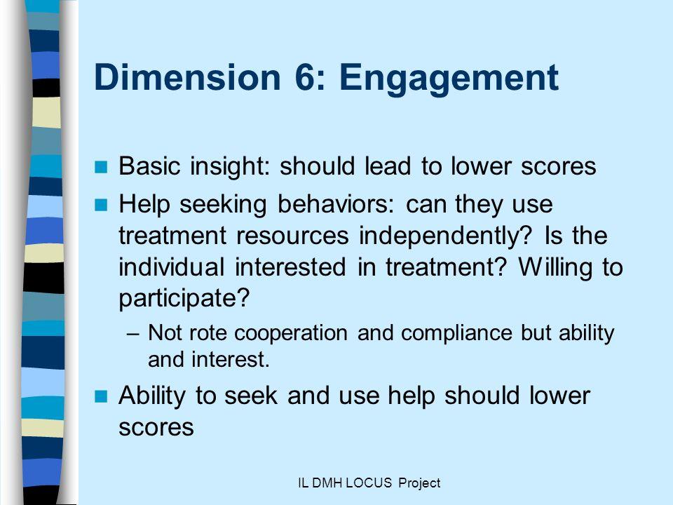 Dimension 6: Engagement