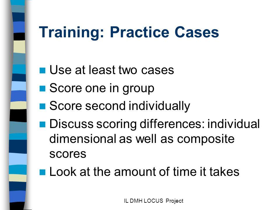 Training: Practice Cases