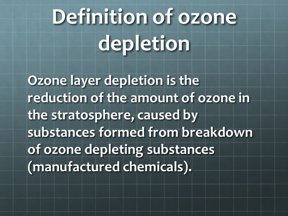 an in depth description of the ozone layer and how it is formed Tropospheric ozone pollution  ozone is formed in the troposphere when sunlight causes complex photochemical reactions involving oxides of nitrogen (nox), volatile organic hydrocarbons (voc) and carbon monoxide that originate chiefly from gasoline engines and burning of other fossil fuels.