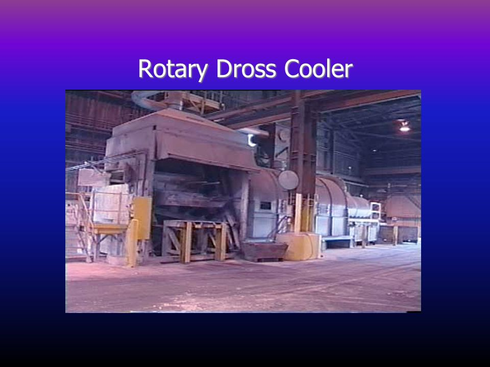 Rotary Dross Cooler