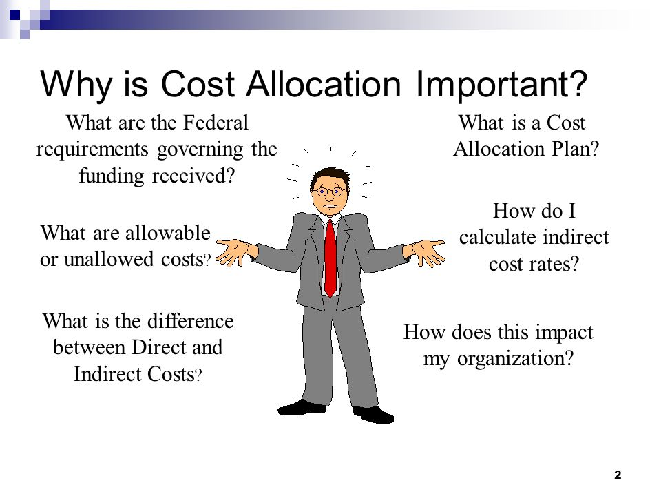 Why is Cost Allocation Important