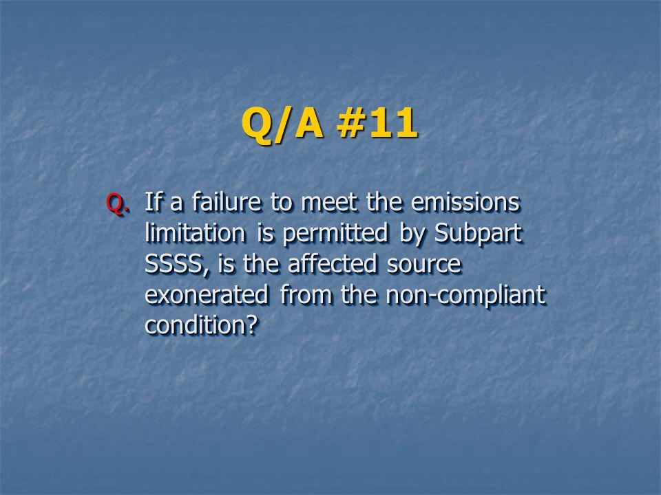 Q/A #11