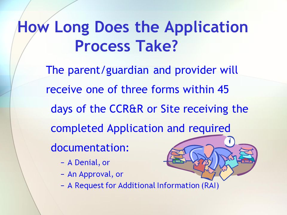 How Long Does the Application Process Take
