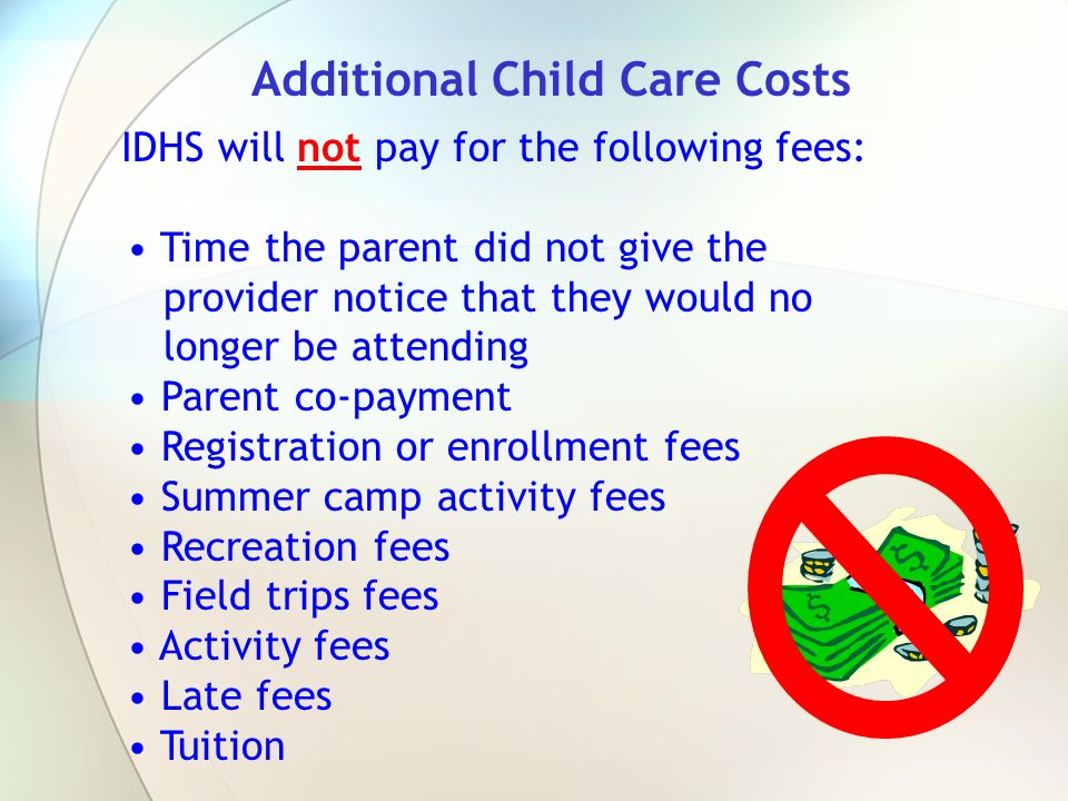 Additional Child Care Costs