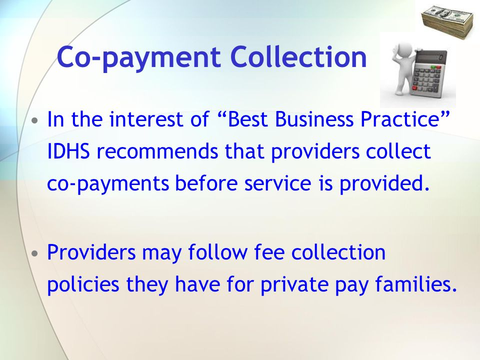 Co-payment Collection