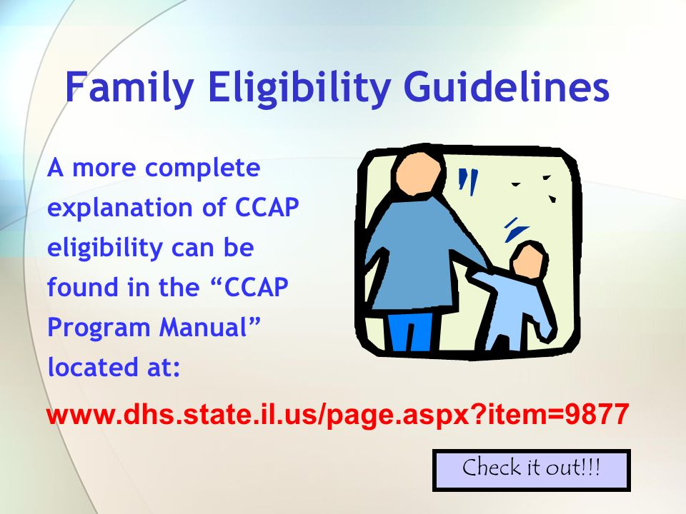 Family Eligibility Guidelines