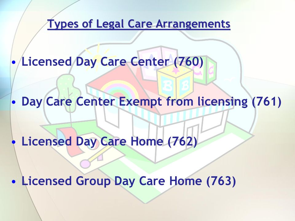 Types of Legal Care Arrangements