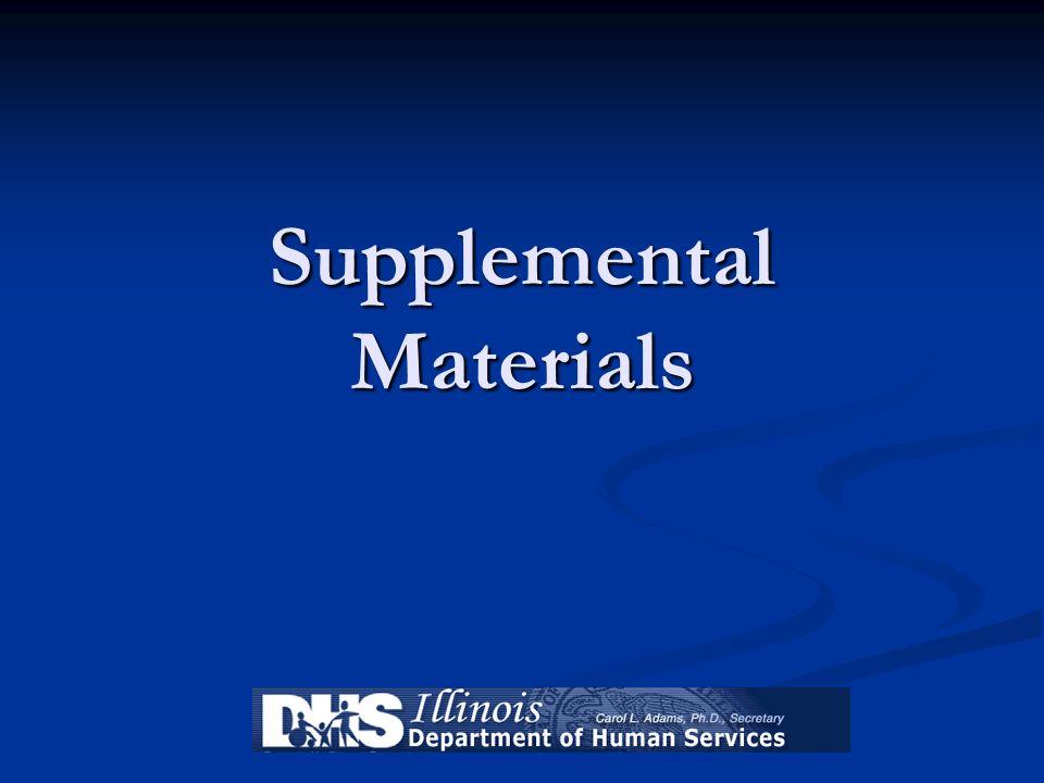 Supplemental Materials