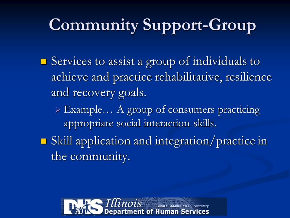 Community Support-Group