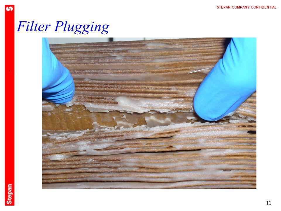 Filter Plugging