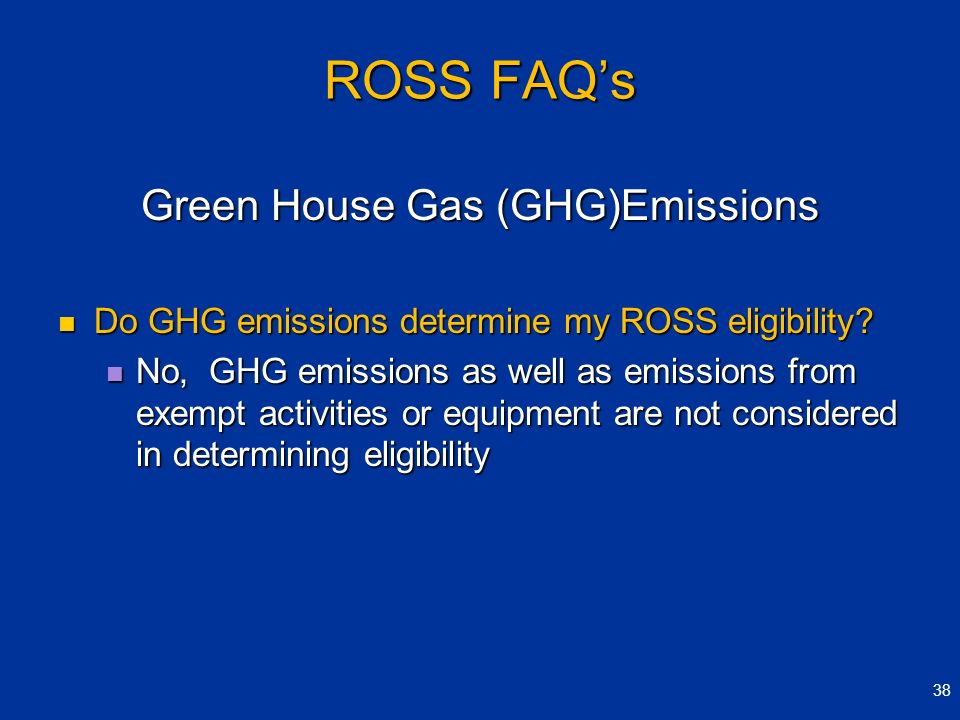 Green House Gas (GHG)Emissions