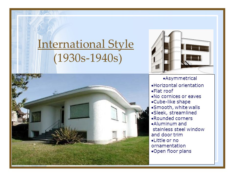 Chapter 6 homes from the 18th century to today ppt video for Www home plans com