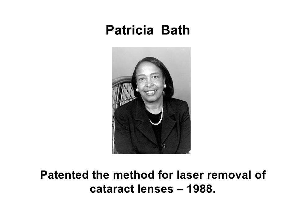 Patented the method for laser removal of cataract lenses – 1988.