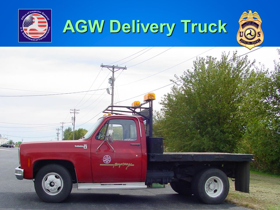 AGW Delivery Truck AGW's Delivery Truck