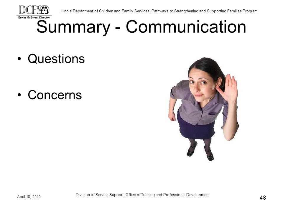 Summary - Communication