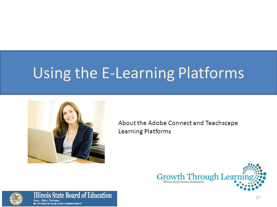 Using the E-Learning Platforms