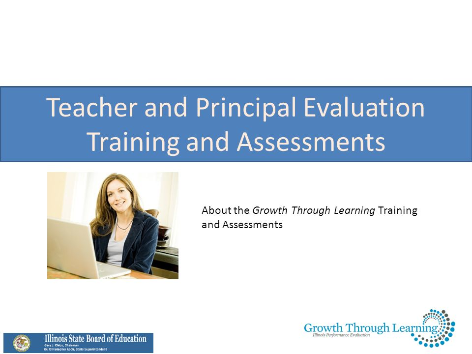 Teacher and Principal Evaluation Training and Assessments