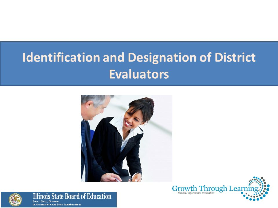 Identification and Designation of District Evaluators