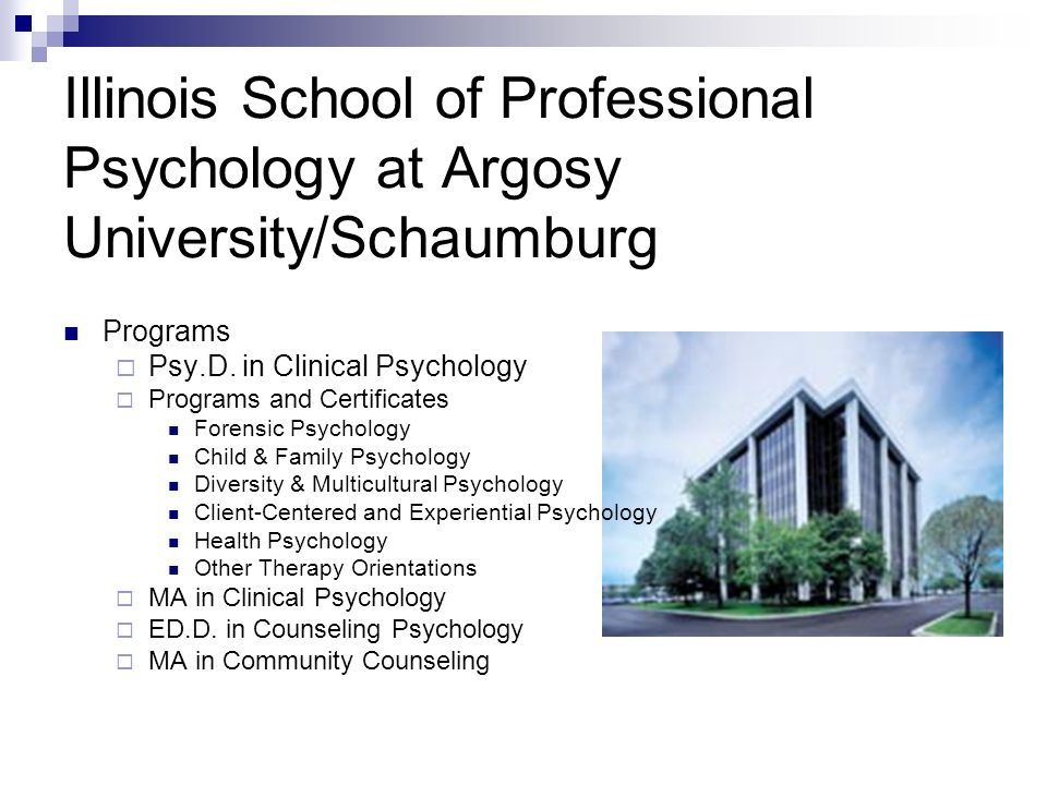 Illinois School of Professional Psychology at Argosy University/Schaumburg