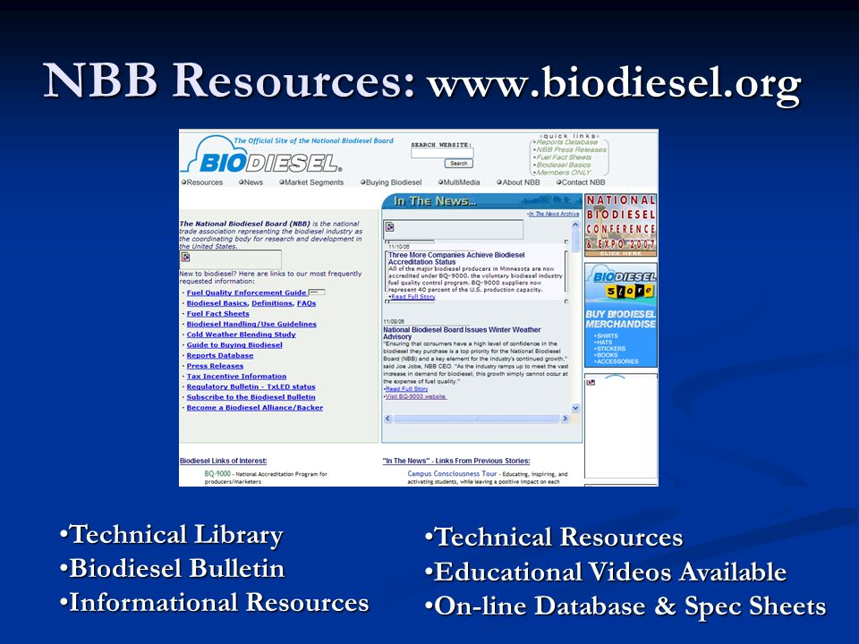NBB Resources: