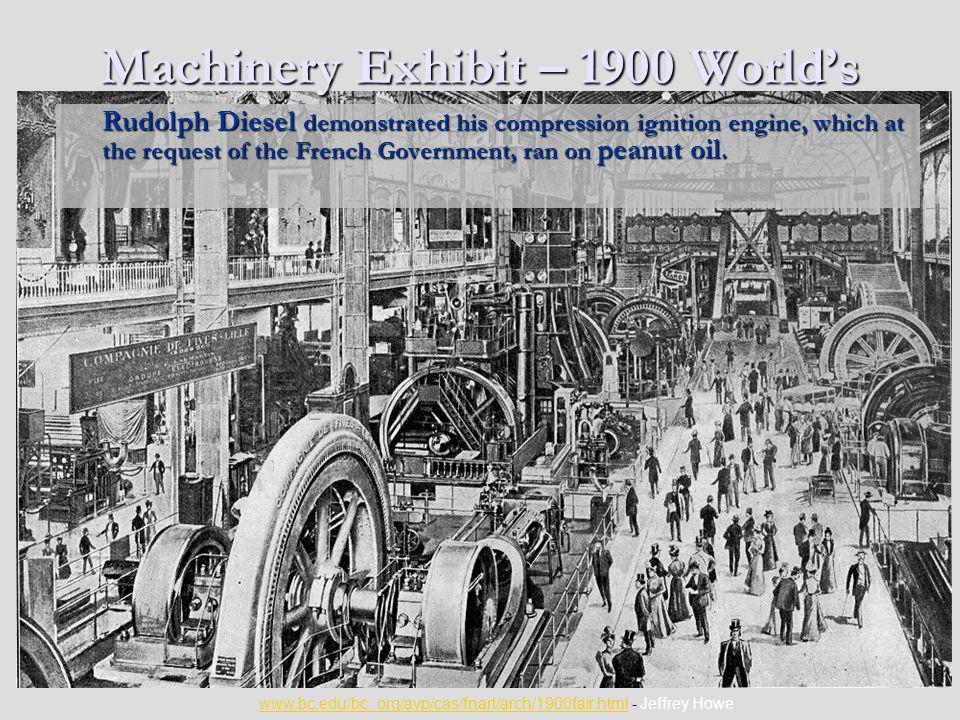 Machinery Exhibit – 1900 World's Fair