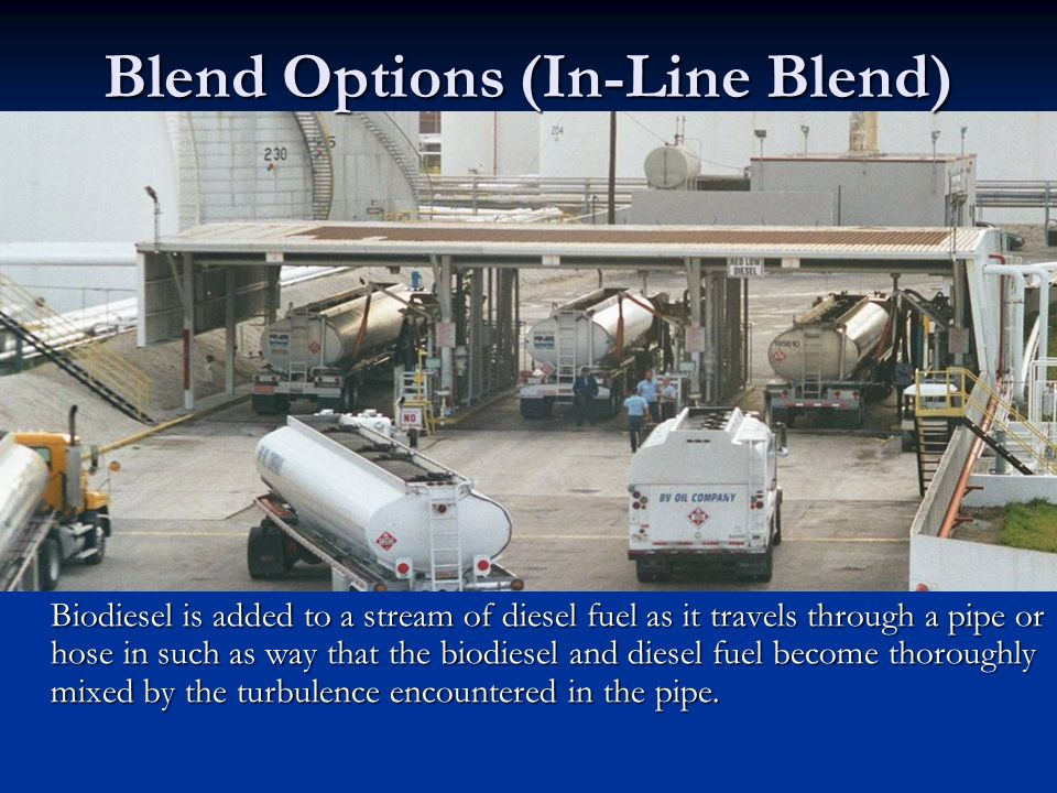 Blend Options (In-Line Blend)