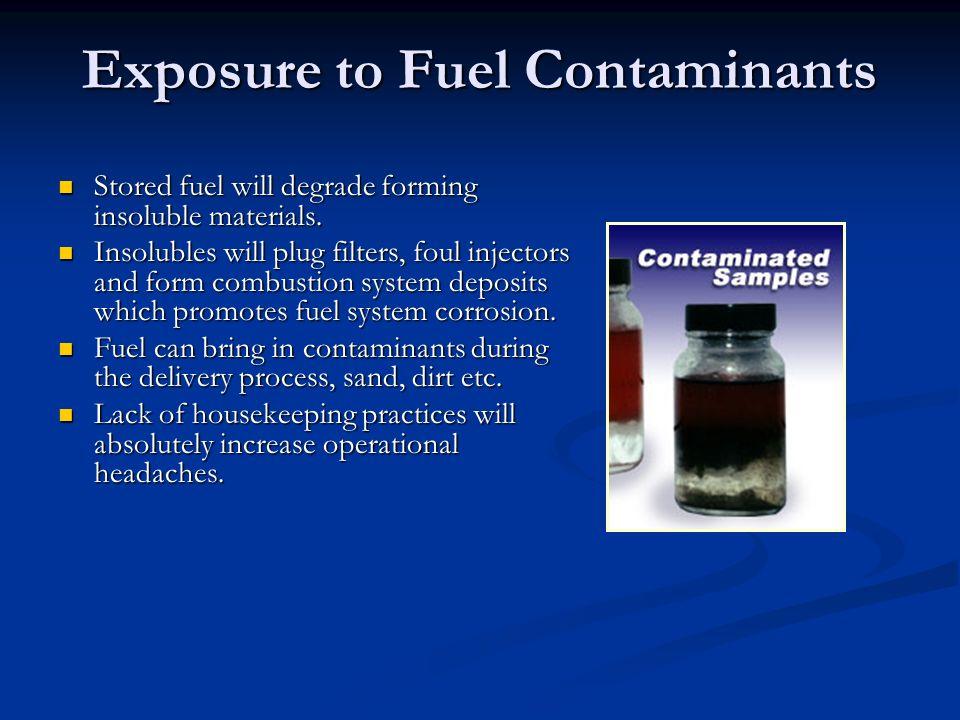Exposure to Fuel Contaminants