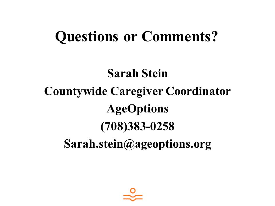 Countywide Caregiver Coordinator