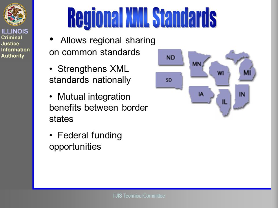 Regional XML Standards