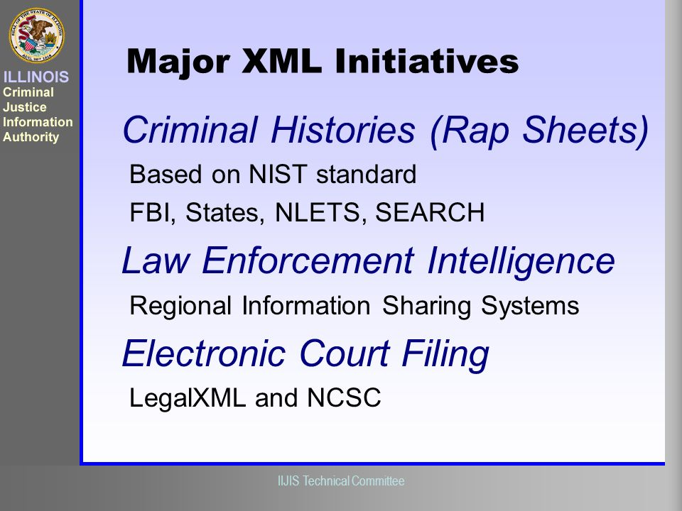 Criminal Histories (Rap Sheets)