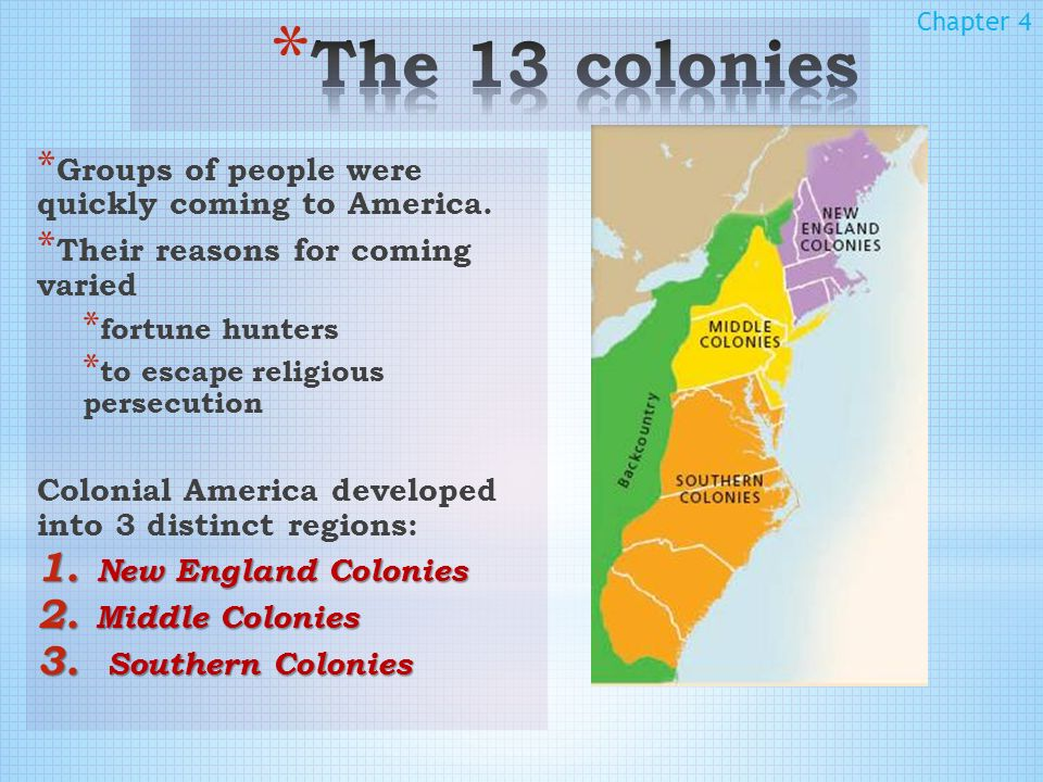 American History » Colonial