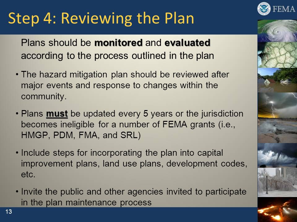 Step 4: Reviewing the Plan
