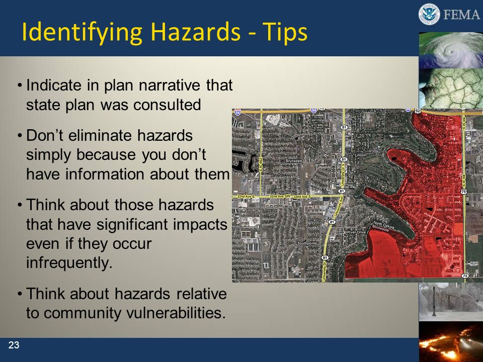 Identifying Hazards - Tips