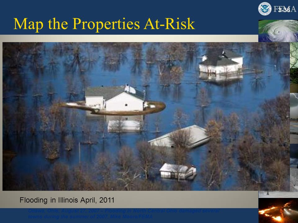Map the Properties At-Risk