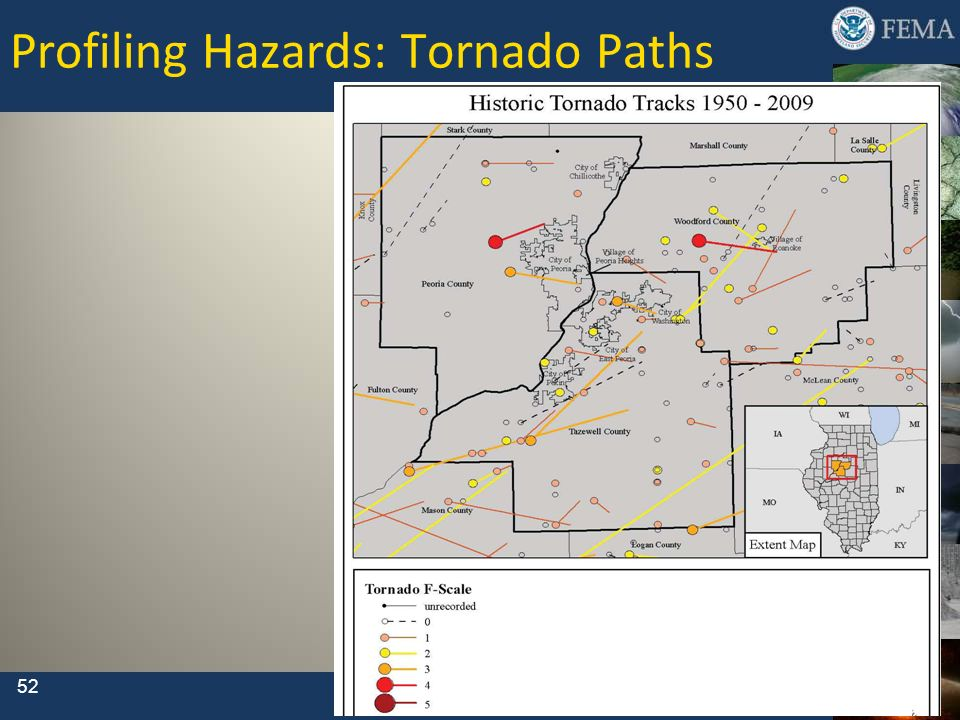 Profiling Hazards: Tornado Paths