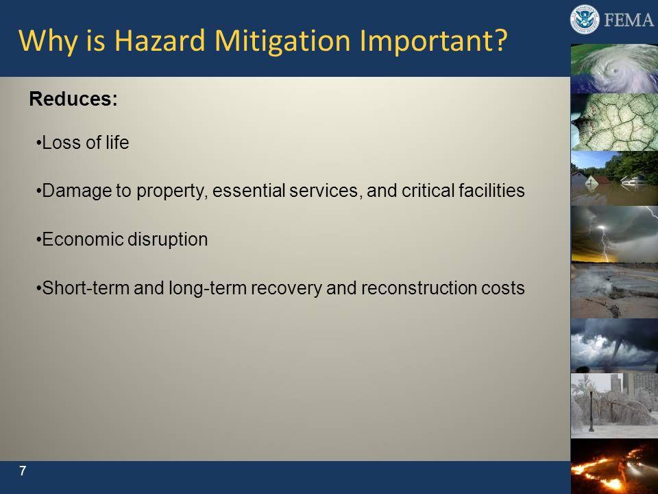 Why is Hazard Mitigation Important