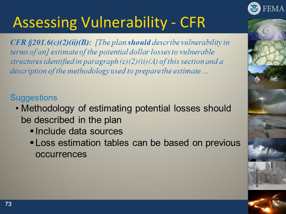 Assessing Vulnerability - CFR