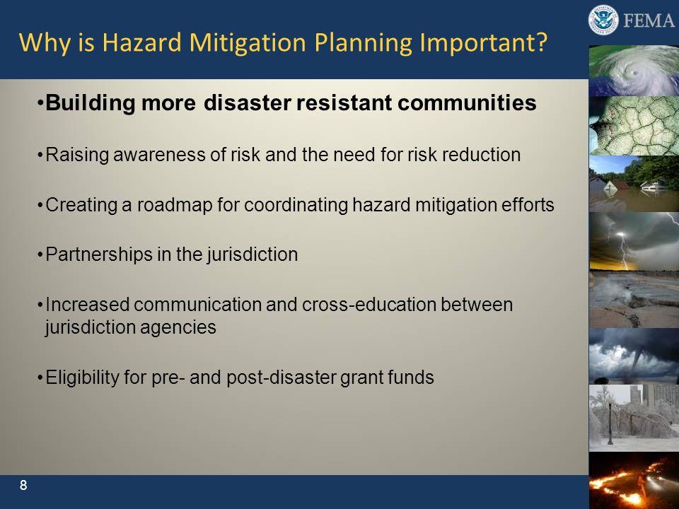 Why is Hazard Mitigation Planning Important