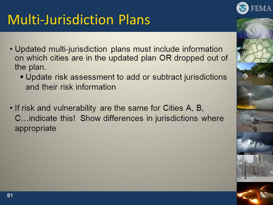 Multi-Jurisdiction Plans