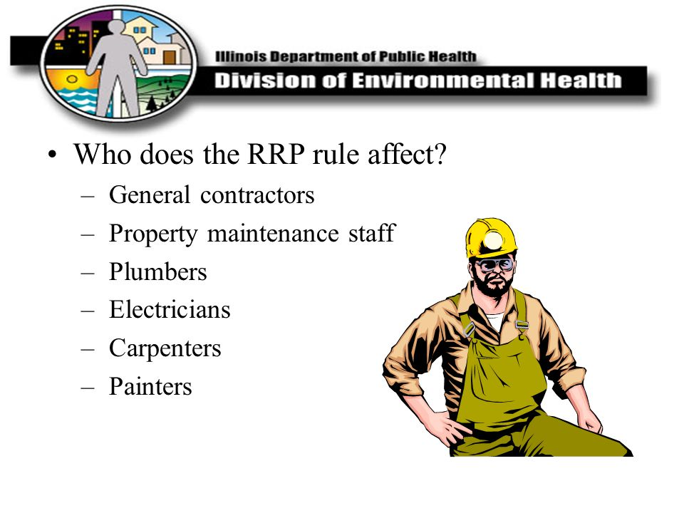 Who does the RRP rule affect